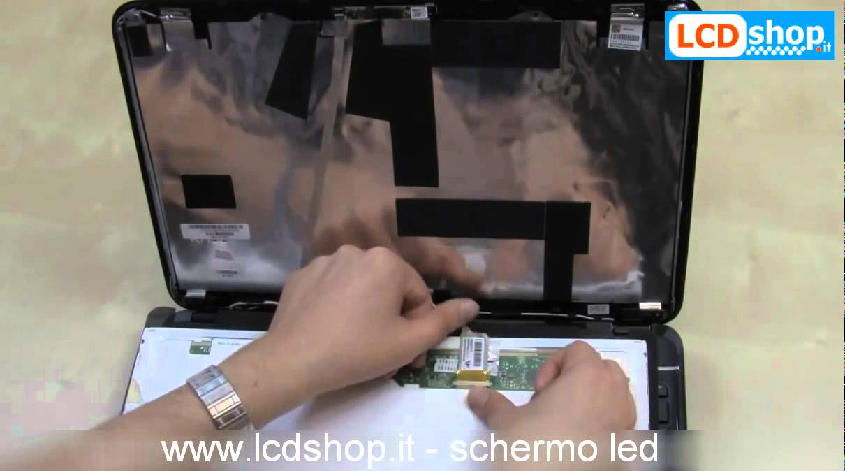 Visiodirect/® LCD Schermo Display 15.6 LED tipo B156XTN07.1 per portatile
