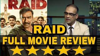 Raid Honest Movie Review | Full Movie Review | Hit or Flop | Ajay Devgan | Ileana D'cruz | Saurabh S