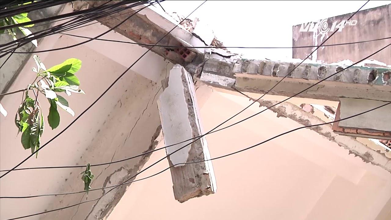 VTC14 | Sập nhà vì thi công nhà cao tầng sát bên