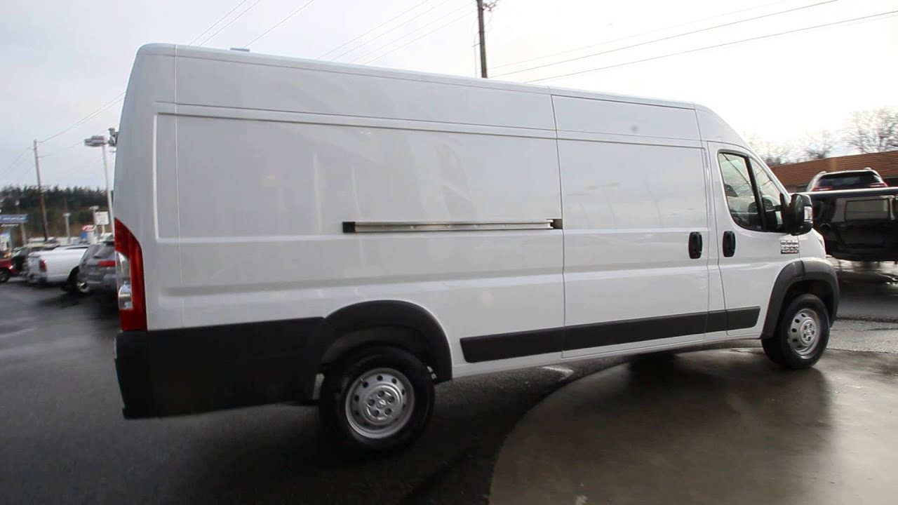 2015 dodge ram promaster 3500 eco diesel white fe505337 mt vernon skagit youtube