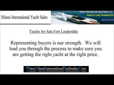 Yachts for Sale Fort Lauderdale