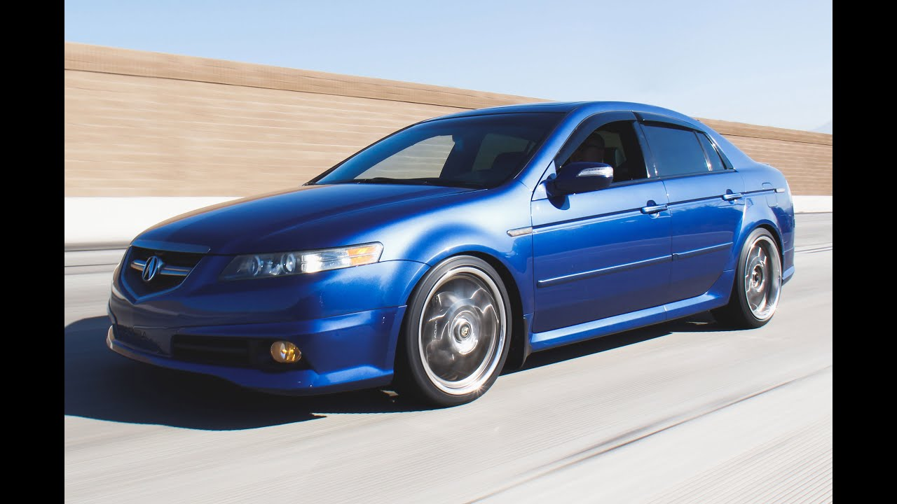 hight resolution of modified 2007 acura tl type s one take