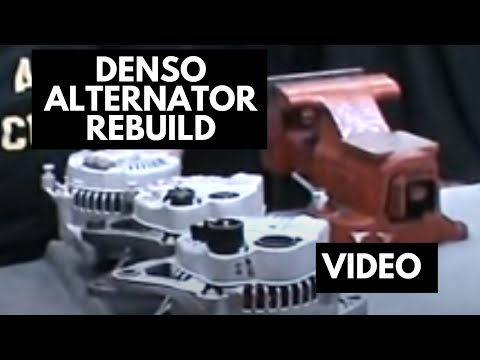 How to rebuild a denso alternator | denso rebuild kit - YouTube