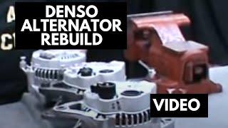How to rebuild a denso alternator   denso rebuild kit