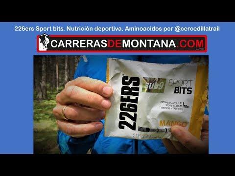 226ers Sub9 sport bits: Nutrición deportiva con aminoácidos