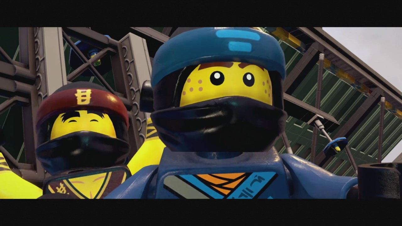Lego Ninjago Movie Gra Wideo Z Polskim Dubbingiem Youtube