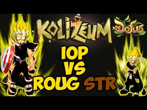[DOFUS] GO TOP 1 KOLI #11: IOP FULL STR VS ROUBLARD FULL AGI