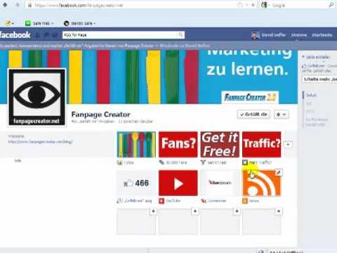 Blog auf Facebook einbinden