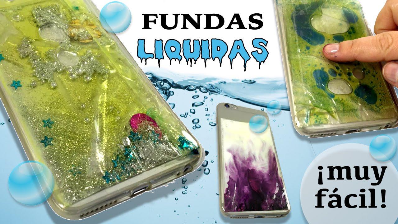 FUNDAS para mvil o celular LIQUIDAS  Fundas CON AGUA  YouTube