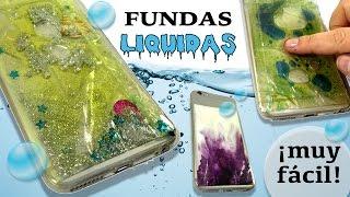 FUNDAS para móvil o celular LIQUIDAS * Fundas CON AGUA thumbnail