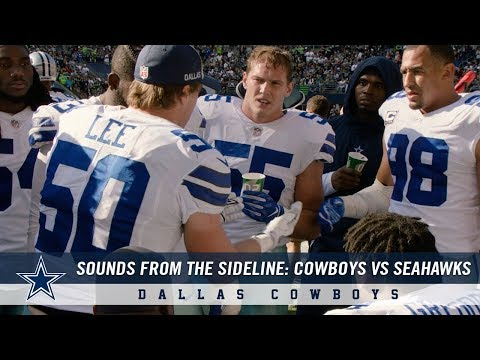 Sounds from the Sideline: Dallas Cowboys vs Seattle Seahawks   Dallas Cowboys 2018