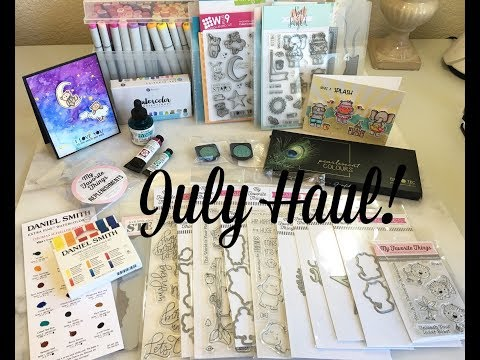 NEW My Favorite Things Release!!! July Hauls~Hand Lettering & Cardmaking