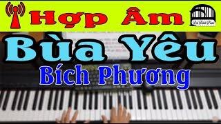 Hợp Âm - BÙA YÊU - BÍCH PHƯƠNG (Hướng dẫn đệm hát   Đại Thành Piano)