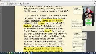 13 | Sinjoro Tadeo 2: 200-308 | Pan Tadeusz – 에스페란토 판 타데우시 2권 공부 (zoom)