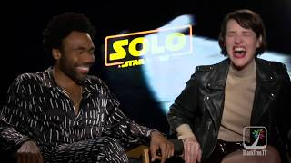 """Donald Glover Explains """"f'n' a robot and why do people care who other people love"""""""