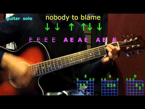 Nobody to Blame Chris Stapleton Guitar Cover Lesson with Chords ...