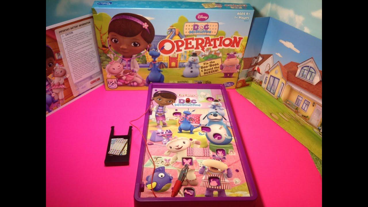 DOC MCSTUFFINS Operation Game Play Juniors Doc McStuffins Game From - Doc games