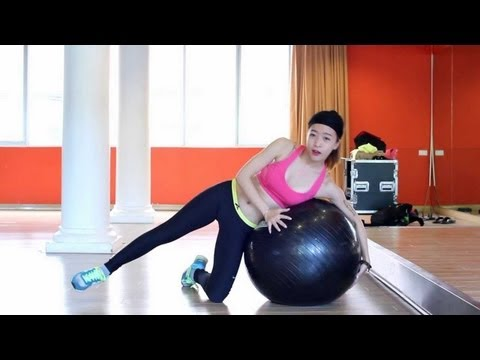 Hướng dẫn tập toàn thân với Bóng tập Yoga   Hana Giang Anh