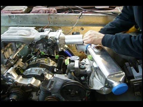hqdefault part 34 water to air intercooler installation, part 1 my 76 mazda