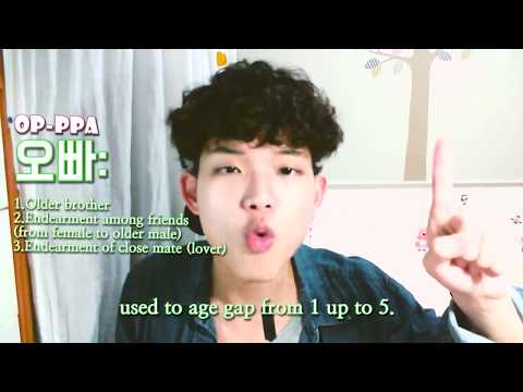 Learn Korean - What Does Oppa Mean Really?