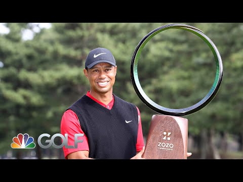 Mike Tirico talks Tiger Woods' 82nd win at the Zozo Championship and 2020 Olympics | Golf Channel