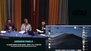 Agdq 2019 Panels: Classic Games Done Quick: How It All Started