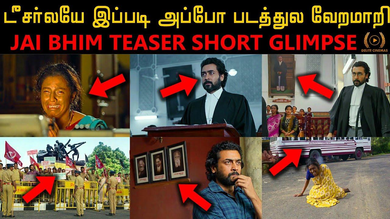 "Download ""Jai Bhim"" (2021) Teaser Short Glimpse l Actor Suriya l T.G Gnanavel l By Delite Cinemas"