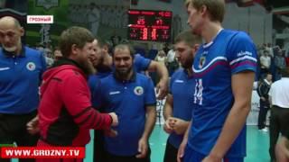Волейболисты клуба «Грозный» одержали победу над командой «Кристалл» из Воронежа