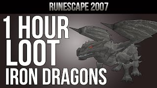 OSRS [Ranging Guide] Loot From 1 Hour of Iron Dragons   ''Slay Dem Dragons'' S1E2 MID-LEVEL