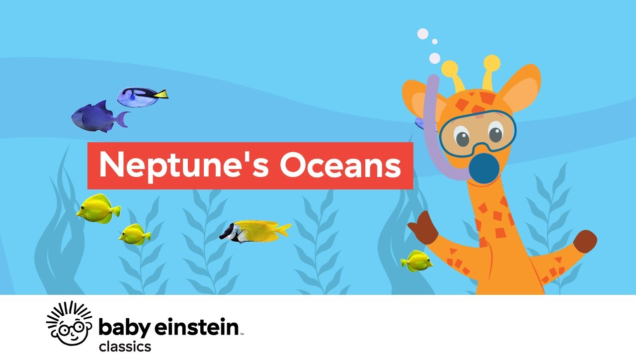 Sea Animals for Toddlers To Learn | Neptune's Ocean | Baby Einstein
