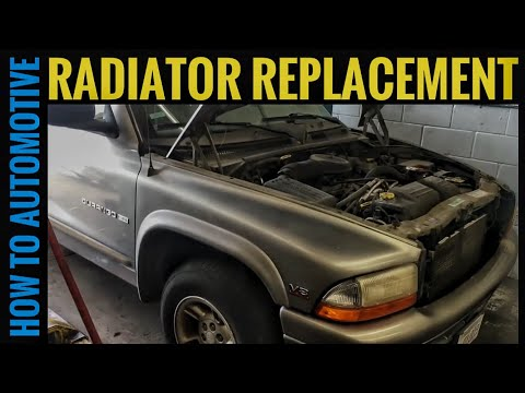 How to Replace the Radiator on a 1998-2003 Dodge Durango
