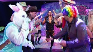 The Exotic Express made its rounds all over the WWE Universe