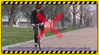 Bicycle Traffic Rules(自転車交通ルール)(リンク先ページで動画を再生します。)