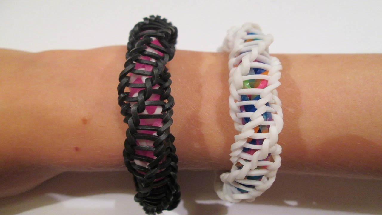 Rainbow Loom Spirilla Bracelet Variation Of The Quot Frozen