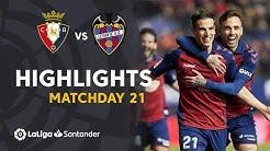 Highlights CA Osasuna vs Levante UD (2-0)