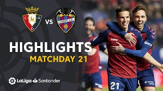 Highlights CA Osasuna vs Levante UD (2-0)
