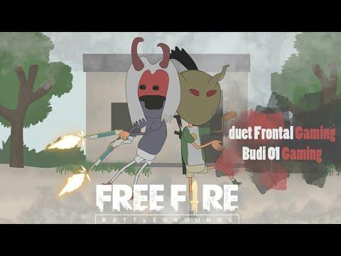 Animation Free Fire Duet Murid Dan Guru Frontal Gaming Ft Budi 01 Gaming Versi Animasi Youtube