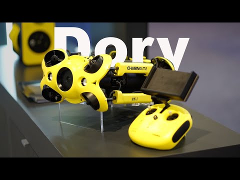 I can believe what this Underwater Drone can do.  CES 2020