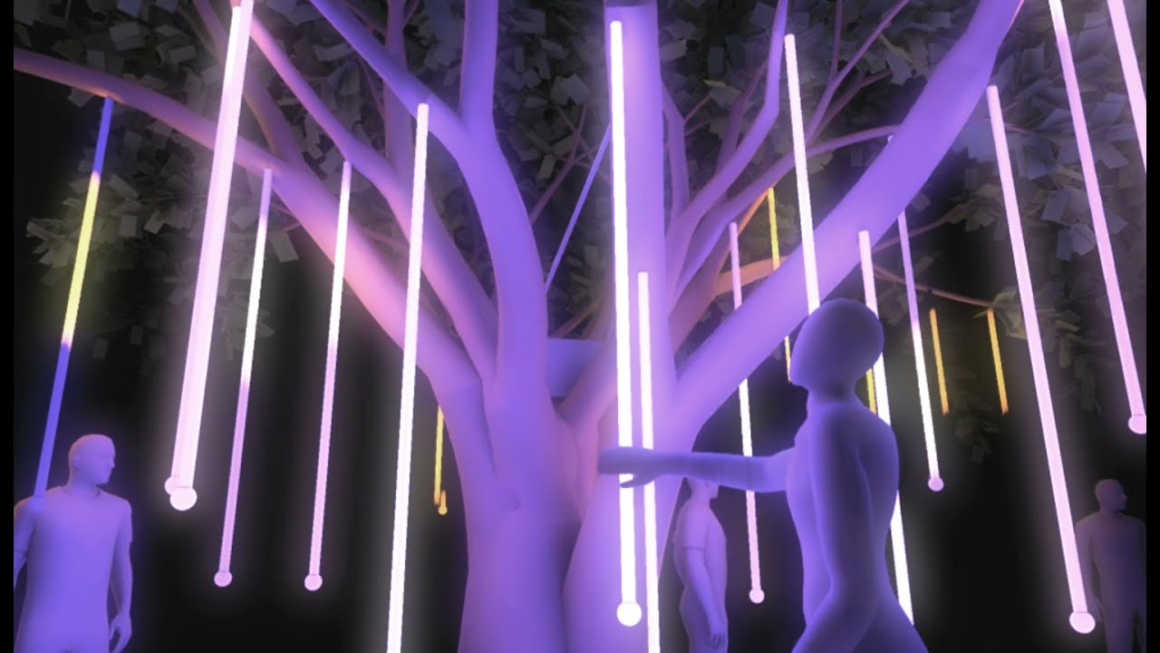 Tree Of Life - LED Art installation Pitch - Proof of Concept - YouTube for Led Light Installation Art  166kxo