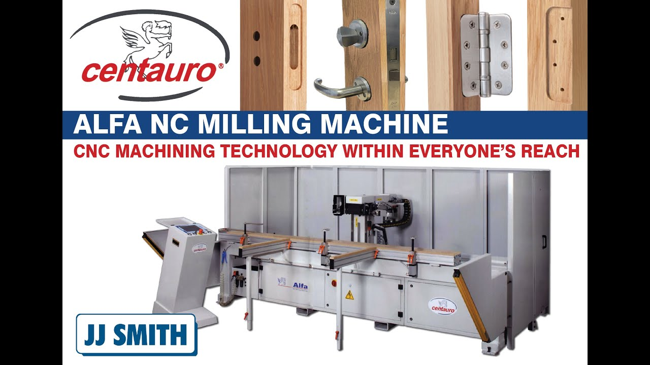 Centauro ALFA NC Machining Centre For Joinery Components & Doors