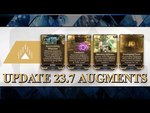 Warframe - Update 23.7 - New Augments thumbnail