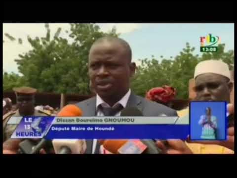 RTB/Deuxième parlementaire du groupe UPC RD  à Houndé