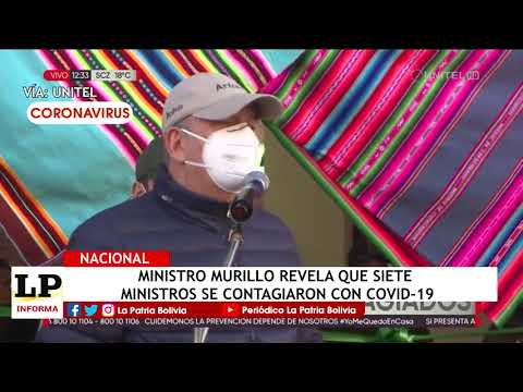 Ministro Murillo revela que siete minist...