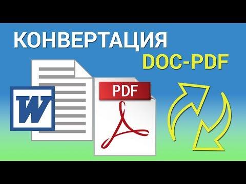 Как конвертировать DOC в PDF через MS WORD, Acrobat Pro и PDF Creator. Переводим ворд в пдф