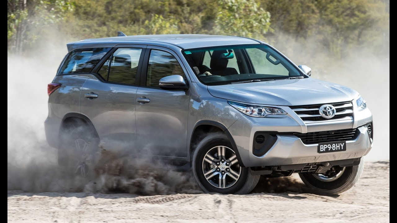 2018 Toyota Fortuner Off-Road Driving - YouTube