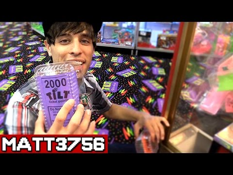 Winning Tickets in the Claw Machine ~ Arcade Game Jackpot Challenge Can We Win It? |