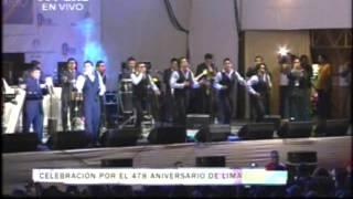 Aniversario de Lima 2013: Tu lloras por el  - Hermanos Yaipén