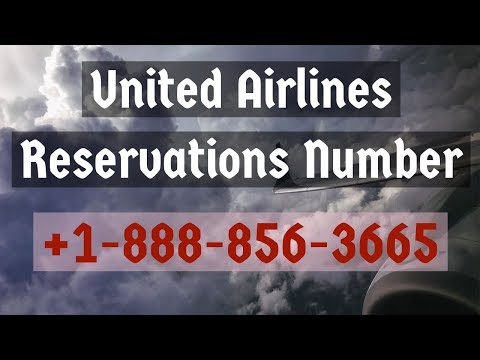 United Airlines Reservations Number +1-888-856-3665 Booking Phone Number