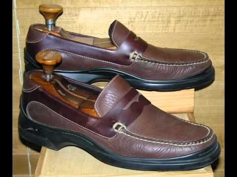 4f55a14ac21 COLE HAAN LOAFER SANTA BARBARA PENNY Fudge Brown 8 1 2 M - YouTube