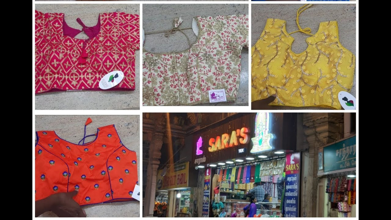 aff3ec32483fac DESIGNER BLOUSE COLLECTIONS IN TAMIL    Readymade blouse and Blouse  materials with price in tamil Download video - get video youtube